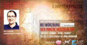 Online-Seminar: Der Innere Heiler in Dir - Mythos, Symbol, Atem, Trance - Prozessarbeit mit Jörg Fuhrmann, Benediktushof, 140€