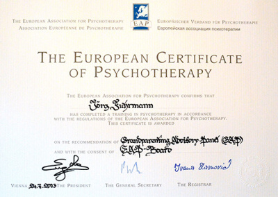 European Association for Psychotherapy (EAP)
