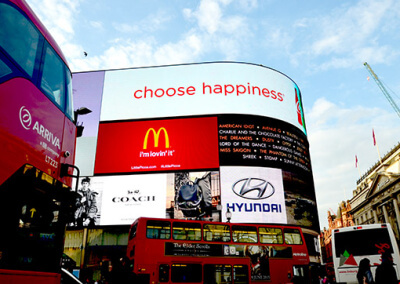 London Piccadilly Circus 2015