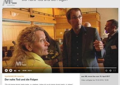 """Ostersendung """"Mona Lisa"""" (ZDF) Thema """"Nahtod"""""""