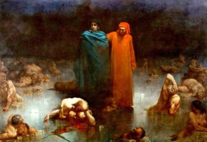 Gustave_Doré - Dante & Vergil Hölle 2. Matrix