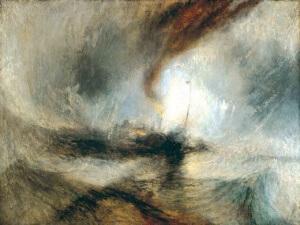 William_Turner - Schneesturm perinatale Überflutung