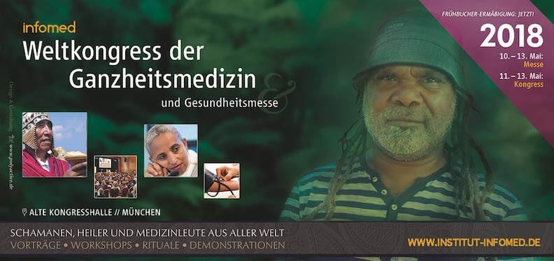 Infomed-Weltkongress der Ganzheitsmedizin 2018 – alte Kongresshalle München u.a. mit Jörg Fuhrmann