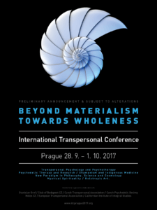 """International Transpersonal Conference """"BEYOND MATERIALISM – TOWARDS WHOLENESS"""" by Stanislav Grof in Prague @ Top Hotel Praha   Tschechien"""
