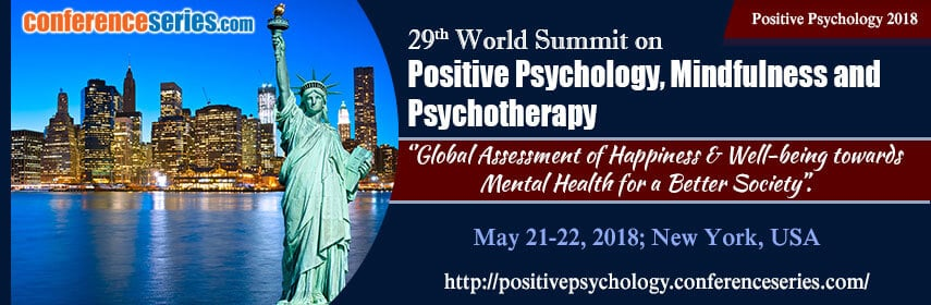29th World Summit in New York (USA) on Positive Psychology, Mindfulness & Psychotherapy with Jörg Fuhrmann