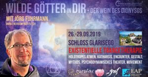 "Wilde Götter in Dir - ""Wein des Dionysos"": 4x holotropes Atmen, Gestalt, Mythos, Encounter, Theater im Schloss Glarisegg 350.-€ @ Seminarzentrum Schloss Glarisegg 