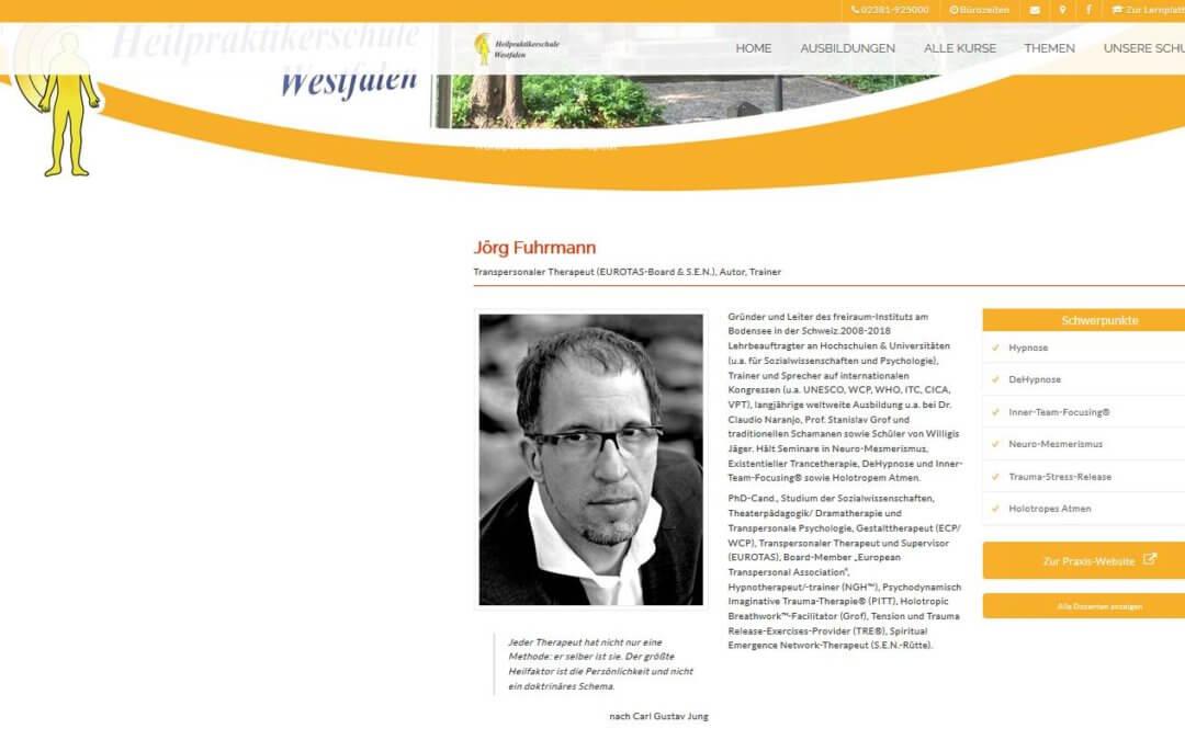 Neuro-Mesmerismus & Trauma-Stress-Release, Soest, Jörg Fuhrmann 648€
