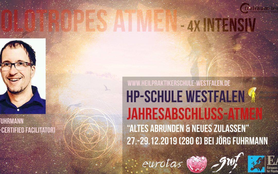 Holotropes Atmen-Intensiv 4x – Jahresabschluss-Atmen 2019, Soest, Jörg Fuhrmann 280€ – WARTELISTE (BONUSTAG noch Platz)