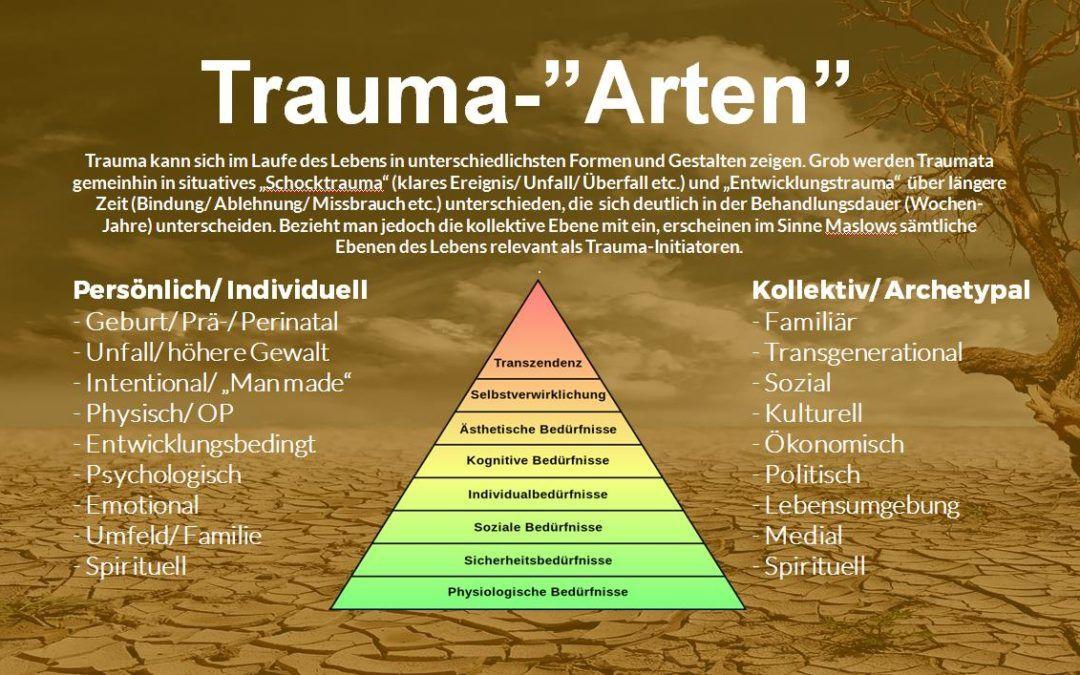 """""""Trauma"""" betrifft die gesamte Gesellschaft! Info-Artikel über kollektive Traumatisierungen"""