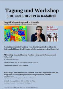 Aktionstag - Kontaktabbruch in Familien - Kriegskinder - Kriegsenkel & transgeneratives Trauma - mit einem Vortrag von Jörg Fuhrmann @ Tagungszentrum Milchwerk