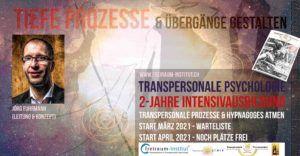 Transpersonale Ausbildung TP02: Transpersonale Psychologie-Ausbildung, Prozessarbeit & Hypnagoges Atmen (WARTELISTE!) @ freiraum-Institut