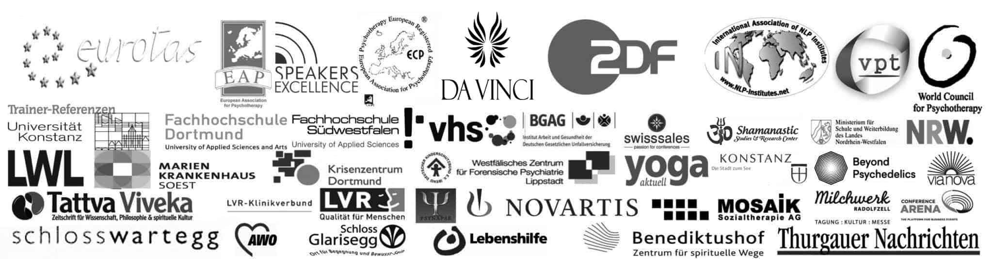 Dozenten-Referenzen & Zertifizierungen freiram-Institut